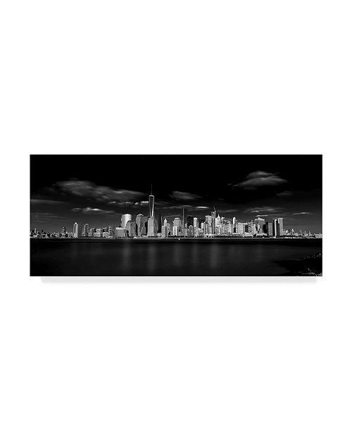 "Trademark Global Jackson Carvalho 'The Big Apple' Canvas Art - 19"" x 2"" x 8"""