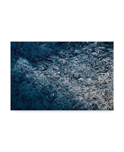 "Trademark Global Darlene Hewson 'Moody Blue' Canvas Art - 19"" x 2"" x 12"""