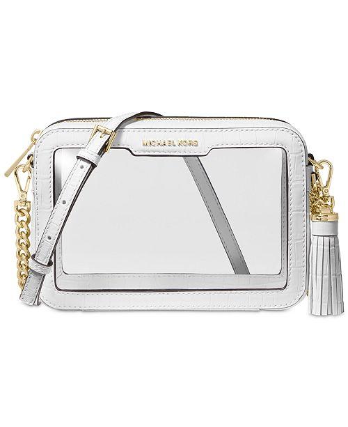 Michael Kors Clear Camera Medium Bag
