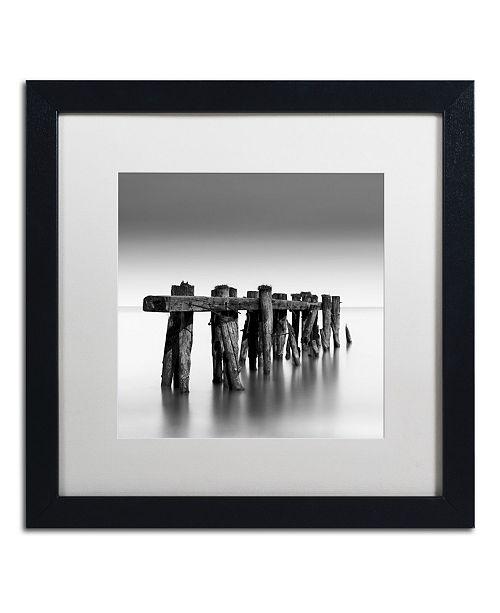 "Trademark Global Dave MacVicar 'Weathered' Matted Framed Art - 16"" x 16"" x 0.5"""