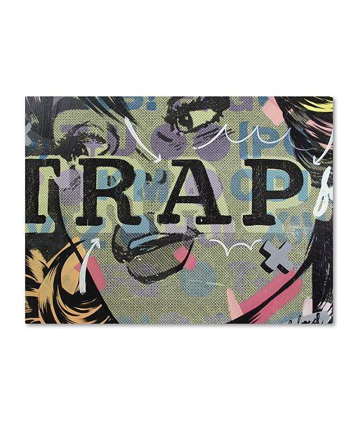 "Trademark Global Dan Monteavaro 'Trap' Canvas Art - 32"" x 24"" x 2"""