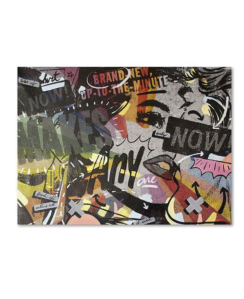 "Trademark Global Dan Monteavaro 'Anyone Now' Canvas Art - 47"" x 35"" x 2"""