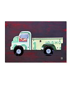 "Design Turnpike 'Pickup Truck' Canvas Art - 24"" x 16"" x 2"""