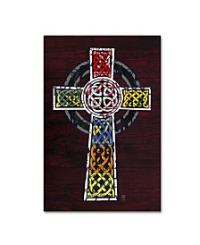 "Design Turnpike 'Celtic Cross' Canvas Art - 32"" x 22"" x 2"""