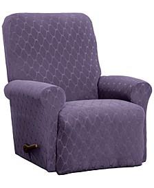 Stretch Sensations Stretch Ogee Slipcover  for a recliner.