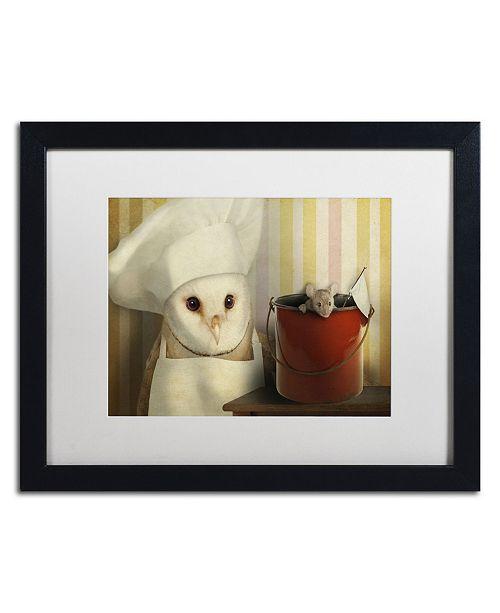 "Trademark Global J Hovenstine Studios 'Mice Series #8' Matted Framed Art - 16"" x 20"" x 0.5"""