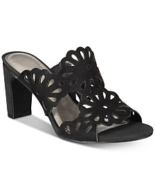 Impo Vliss Cutout Slide Sandals