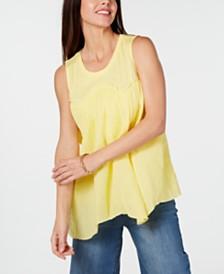 Style & Co Handkerchief-Hem Top, Created for Macy's