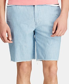 "Polo Ralph Lauren Men's 8.5"" Classic-Fit Chambray Shorts"