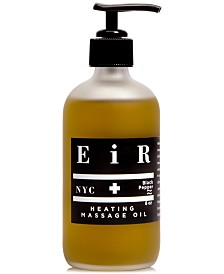 EIR NYC Heating Massage Oil, 8-oz.