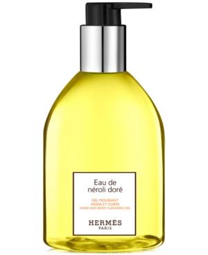 HERMES Eau de Neroli Dore Hand & Body Cleansing Gel, 10-oz.