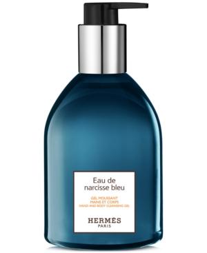 HERMES Eau de Narcisse Bleu Hand & Body Cleansing Gel, 10-oz.