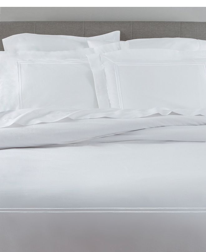 Elite Home Twin Prewashed Cotton Percale Duvet Sets