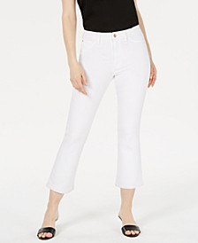 Cropped Flare Skinny Jeans