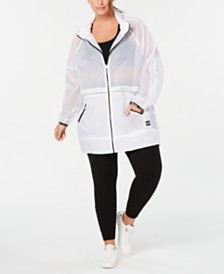 Calvin Klein Performance Plus Size Rain Jacket