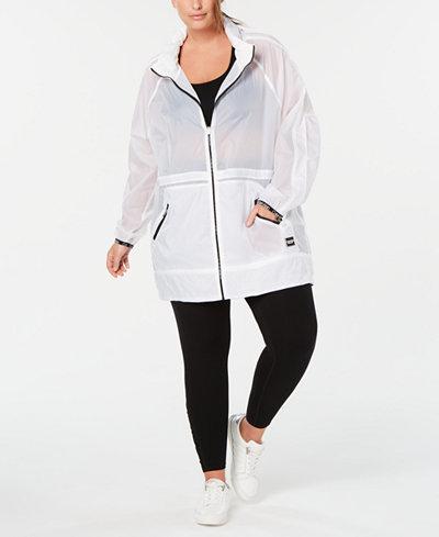 Calvin Klein Performance Plus Size Rain Jacket