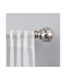 "Exclusive Home Vine 1"" Curtain Rod and Coordinating Finial Set"