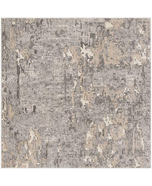 "Safavieh Meadow Gray 6'7"" x 6'7"" Square Area Rug"