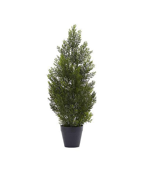 Nearly Natural 2' Mini Cedar Pine Tree
