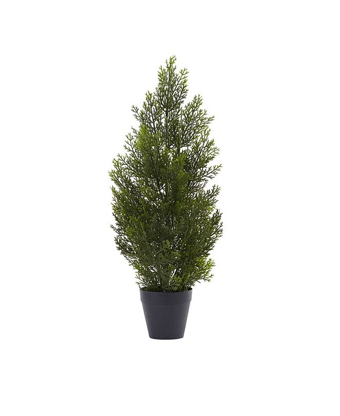 Nearly Natural 2' Mini Cedar Pine Tree