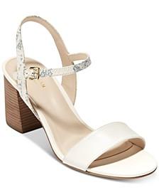 Josie Block-Heel Sandals