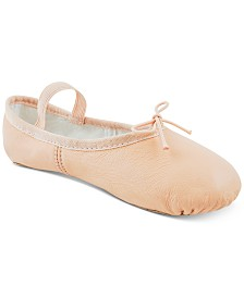 Flo Dancewear Little & Big Girls Split-Sole Ballet Shoes