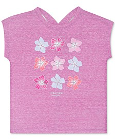 Big Girls Flower-Print T-Shirt