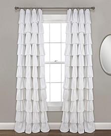 "Ruffle 50"" x 84"" Curtain Panel"