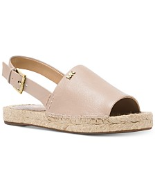 MICHAEL Michael Kors Fisher Espadrille Flat Sandals
