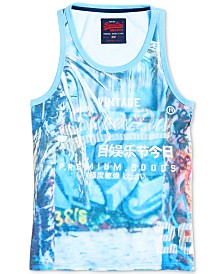 Superdry Men's Premium Goods Photographic Tank