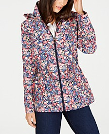 Floral-Print Anorak Jacket, Created for Macy's