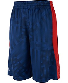 adidas Big Boys Printed Colorblocked Shorts
