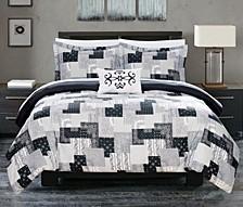 Utopia 6 Piece Twin X-Long Bed In a Bag Duvet Set