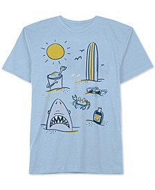 Little Boys Beach Day T-Shirt