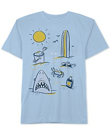 Jem Little Boys Beach Day T-Shirt