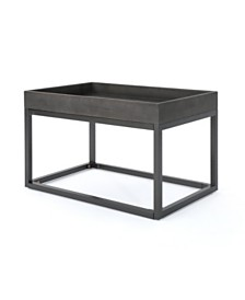 Homer Faux Wood Coffee Table, Quick Ship