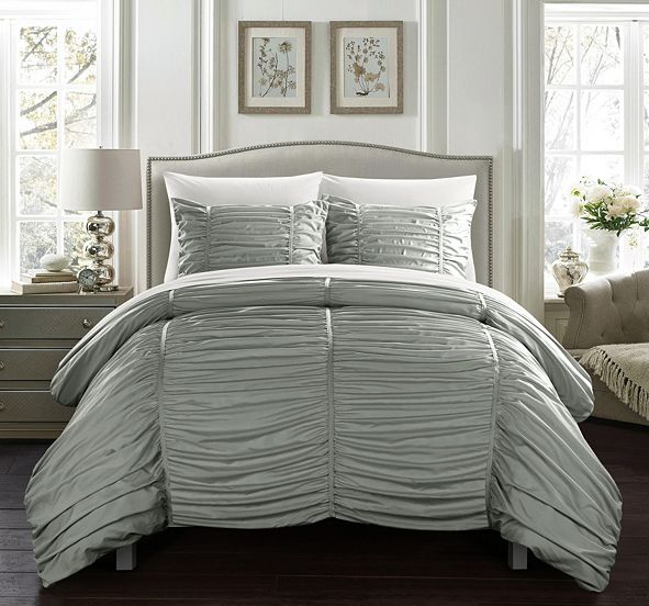 Chic Home Kaiah 5 Piece Twin Bed In a Bag Comforter Set