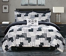 Millennia 8 Piece Queen Bed In a Bag Comforter Set