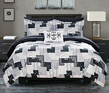 Chic Home Millennia 8-Pc. Bed In a Bag Comforter Sets