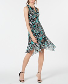 Nanette Lepore Silk Printed Dress