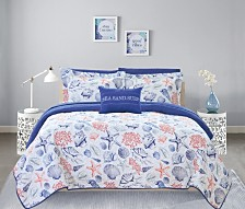 Chic Home Moselle 4 Piece King Quilt Set