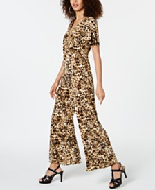 Thalia Sodi Printed Jumpsuit, Created for Macy's