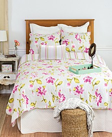 Liliann Full Queen 3 Piece Quilt Set