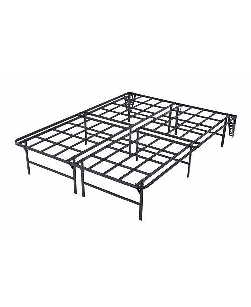 outlet store b845b 8b99d Optima Foldable Queen Platform Bed Frame