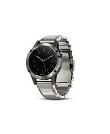 Quatix 5 Premium Multisport Stainless Steel Marine Smartwatch