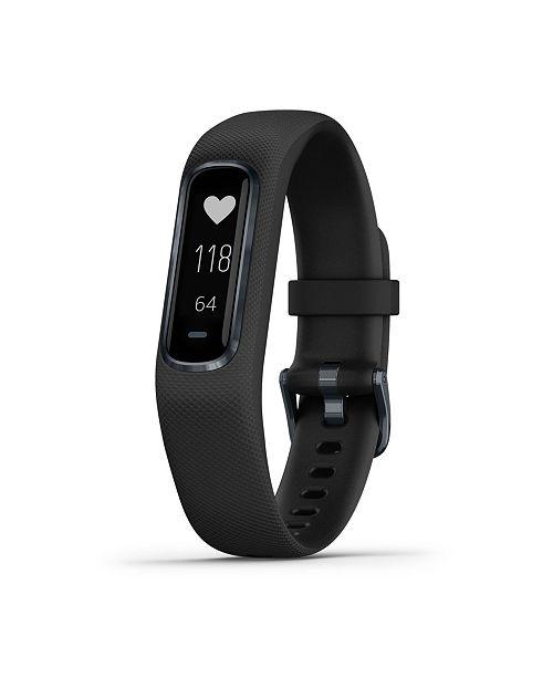 Garmin Vivosmart 4 Activity Tracker in Black and Slate