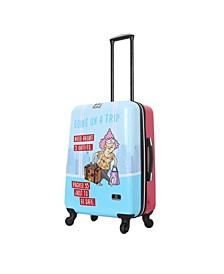 "Aunty Acid Trip 24"" Hardside Spinner Luggage"