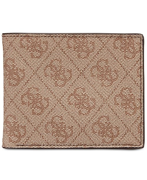 db92ce544 GUESS Men's Printed RFID Wallet & Reviews - All Accessories - Men ...