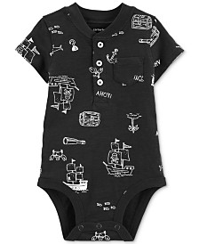 Carter's Baby Boys Cotton Printed Bodysuit