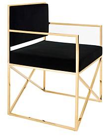 Kian Velvet Director's Chair